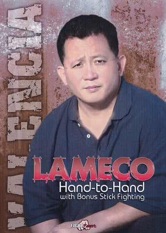 Lameco Hand to Hand & Stick Fighting 2 DVD Set with Felix Valencia - Budovideos Inc