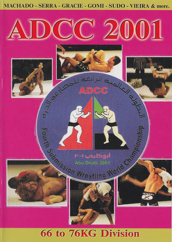 ADCC 2001: Under 66kg-76kg Division DVD (Preowned) - Budovideos