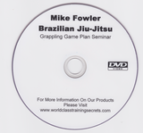 Grappling Game Plan Seminar DVD by Mike Fowler (Preowned) - Budovideos Inc