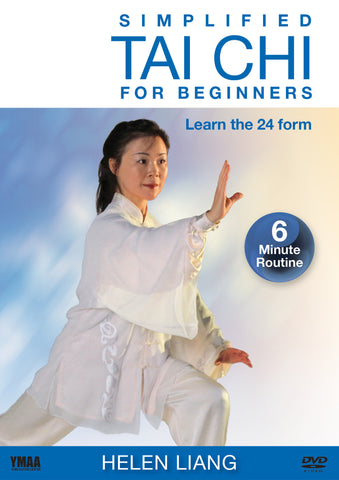 Simplified Tai Chi for Beginners 24 Form DVD by Helen Liang - Budovideos