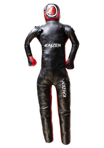 Youth Grappling Dummy with Straight Legs by Kaizen Athletic (Unfilled) - Budovideos