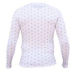 NoGi Industries Spectral Long Sleeve Rashguard - White (LS) - Budovideos