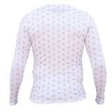 NoGi Industries Spectral Long Sleeve Rashguard - White (LS)