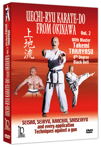 Okinawa Uechi Ryu Karate-Do DVD 2 by Takemi Takayasu - Budovideos Inc