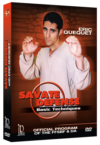 Savate Defense Basic Techniques DVD by Eric Quequet - Budovideos Inc