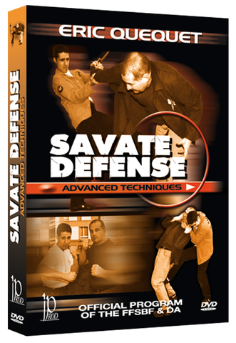 Savate Defense - Advanced Techniques DVD by Eric Quequet - Budovideos Inc