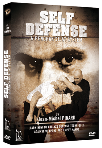 Self Defense & Penchak Silat System DVD by Jean-Michel Pinard - Budovideos Inc