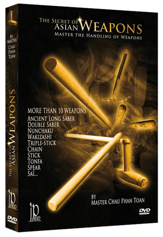 The Secret of Asian Weapons DVD by Chau Phan Toan - Budovideos Inc