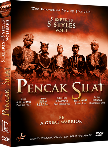 Pencak Silat - 5 Masters 5 Styles DVD 1 - Budovideos Inc