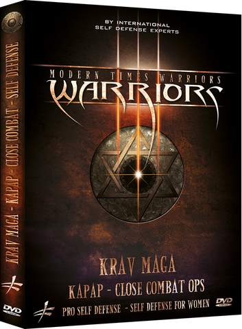 Modern Times Warriors - Krav-Maga, Kapap & Close Combat 2 DVD Box - Budovideos Inc