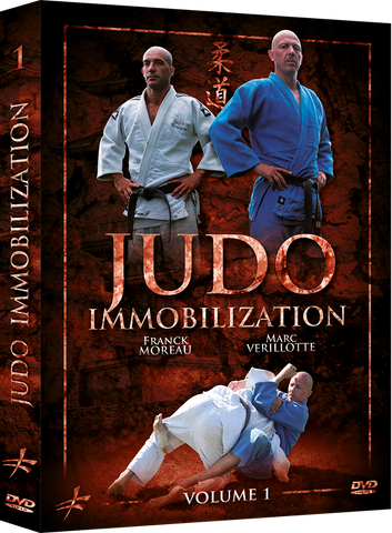 Judo Immobilizations DVD 1 By Franck Moreau & Marc Verillotte - Budovideos Inc