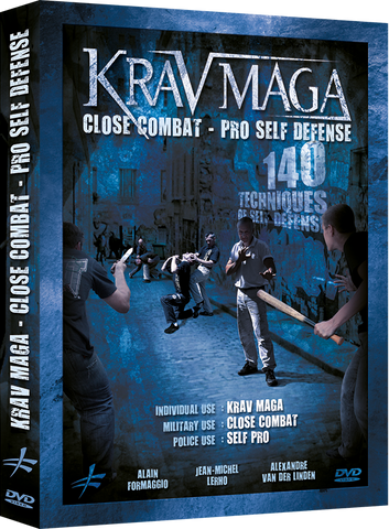Krav Maga Close Combat Self Defense Pro - 140 Techniques DVD - Budovideos Inc