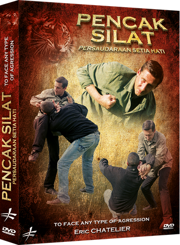 Pencak Silat - To Face any Type of Aggression DVD by Eric Chatelier - Budovideos Inc