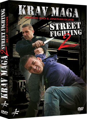 Krav Maga Self Defense Street Fighting DVD 2 by Vincenzo Quici & Jonathan DeJace - Budovideos Inc