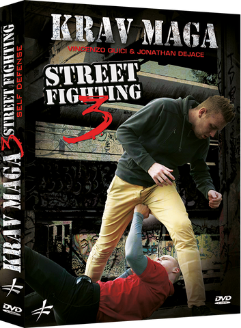 Krav Maga Self Defense Street Fighting DVD 3 by Vincenzo Quici & Jonathan DeJace - Budovideos Inc