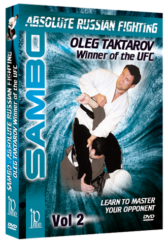 Sambo Absolute Russian Fighting DVD 2 by Oleg Taktarov - Budovideos Inc