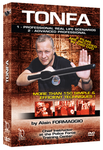 Tonfa - More Than 150 Simple & Efficient Techniques DVD by Alain Formaggio - Budovideos Inc