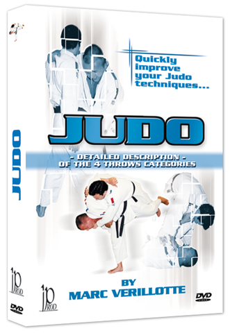 Judo - Detailed Description of the 4 Throw Categories DVD by Marc Verillotte - Budovideos Inc