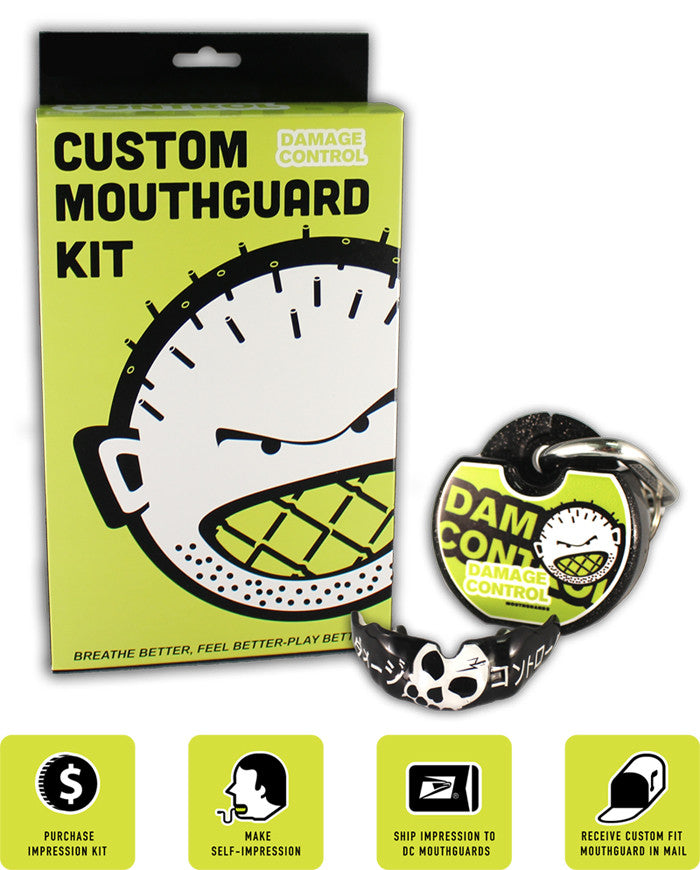 Custom Mouthguard by Damage Control (BJJ Line)