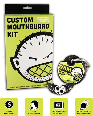 Custom Mouthguard by Damage Control (BJJ Line) - Budovideos Inc