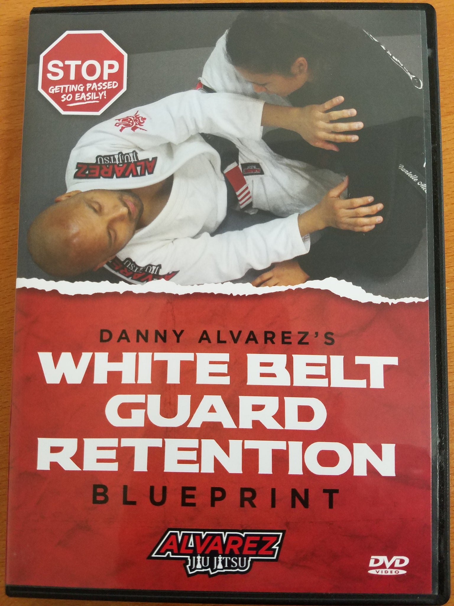 White Belt Guard Retention Blueprint 2 DVD Set by Danny Alvarez - Budovideos
