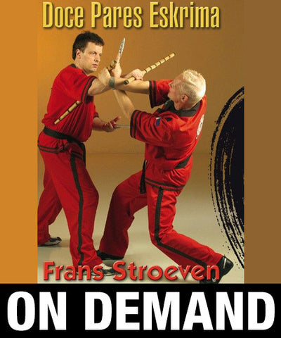 Doce Pares Eskrima by Frans Stroeven (On Demand) - Budovideos