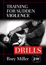Training for Sudden Violence 2 DVD set by Rory Miller - Budovideos