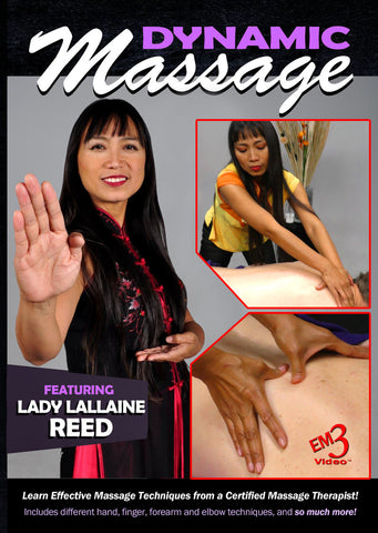 Dynamic Massage DVD by Lady Lallaine Reed - Budovideos