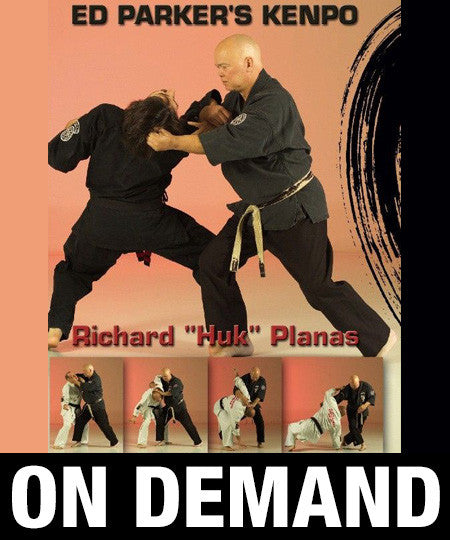 Ed Parker's Kenpo Planas Lineage by Richard Planas (On Demand) - Budovideos