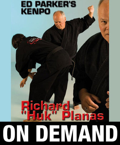 Ed Parker's Rules and Principles by Richard Planas (On Demand)
