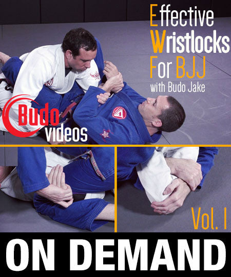 Cover Photo - Effective Wristlocks for BJJ Vol 1 DVD by Budo Jake (On Demand)