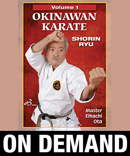 Okinawan Karate Shorin Ryu Vol-1 by Eihachi Ota (On Demand)