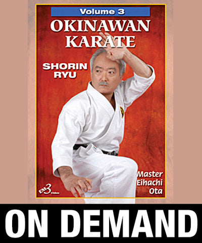 Okinawan Karate Shorin Ryu Vol-3 by Eihachi Ota (On Demand)