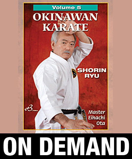 Okinawan Karate Shorin Ryu Vol-5 by Eihachi Ota (On Demand)