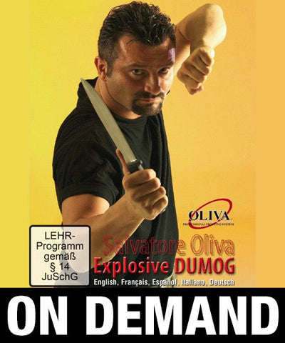 Explosive Dumog Filipino Grappling by Salvatore Olivia (On Demand)