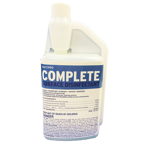 Matpro EZ Pour (Concentrated Formula) Mat Cleaner 32 oz Size - Budovideos