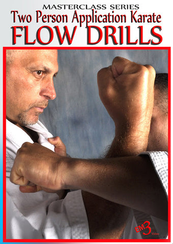 Two Person Application Karate Flow Drills DVD by Jerry Figgiani - Budovideos