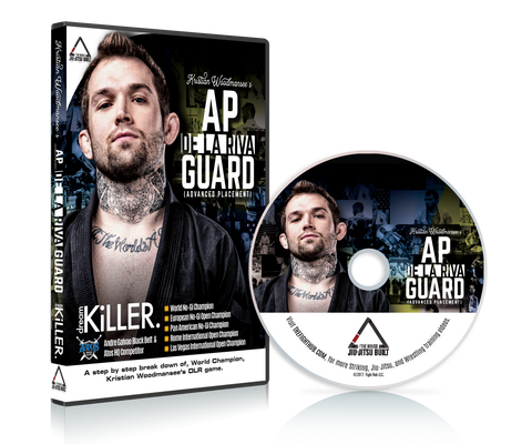 AP De la Riva Guard DVD with Kristian Woodmansee