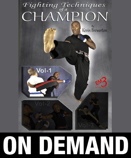 Fighting Techniques of a Champion Vol-1 by Kevin Brewerton (On Demand)