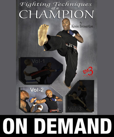 Fighting Techniques of a Champion Vol-2 by Kevin Brewerton (On Demand) - Budovideos