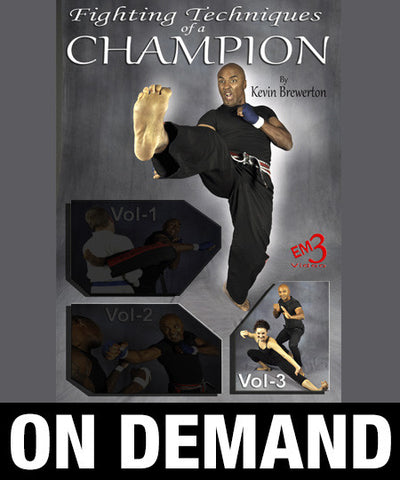 Fighting Techniques of a Champion Vol-3 by Kevin Brewerton (On Demand) - Budovideos