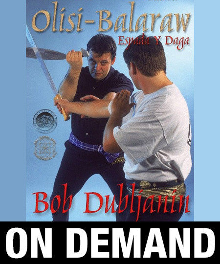 Filipino Olisi Balaraw Sword & Dagger by Bob Dubljanin (On Demand)