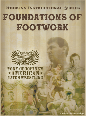 Foundations of Footwork DVD with Tony Cecchine - Budovideos