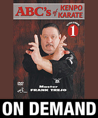 ABC's of Kenpo Karate Volume 1 by Frank Trejo (On Demand)