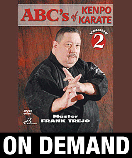 ABC's of Kenpo Karate Volume 2 by Frank Trejo (On Demand) - Budovideos