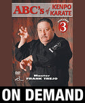 ABC's of Kenpo Karate Volume 3 by Frank Trejo (On Demand) - Budovideos