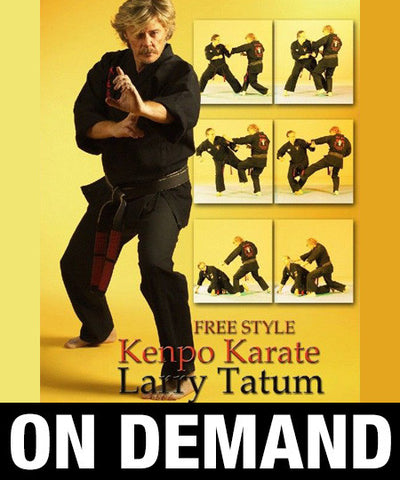 Free Style Kenpo by Larry Tatum (On Demand)