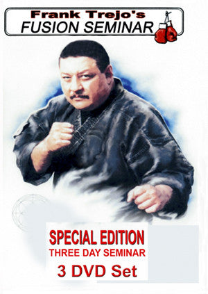 Kenpo Fusion Seminar 3 DVD Set with Frank Trejo