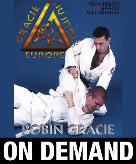 Gracie Jiu Jitsu Throws and Self Defense with Robin Gracie (On Demand)