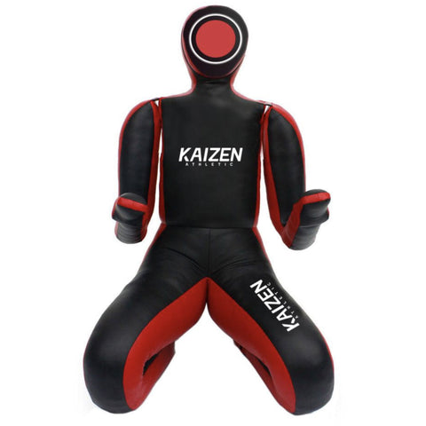 Adult Grappling Dummy with Bent Legs by Kaizen Athletic (Unfilled) - Budovideos Inc